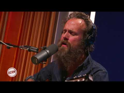 Iron & Wine performing