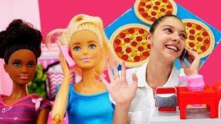 Eğlenceli video! Polen pizzacı oluyor. Meslekler