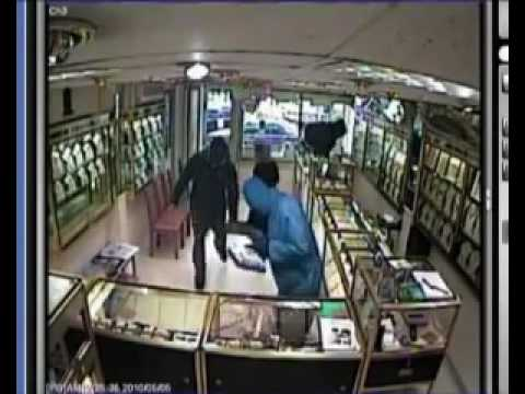 SK Jewellers Robbery- before the installation of a Warrior Doors
