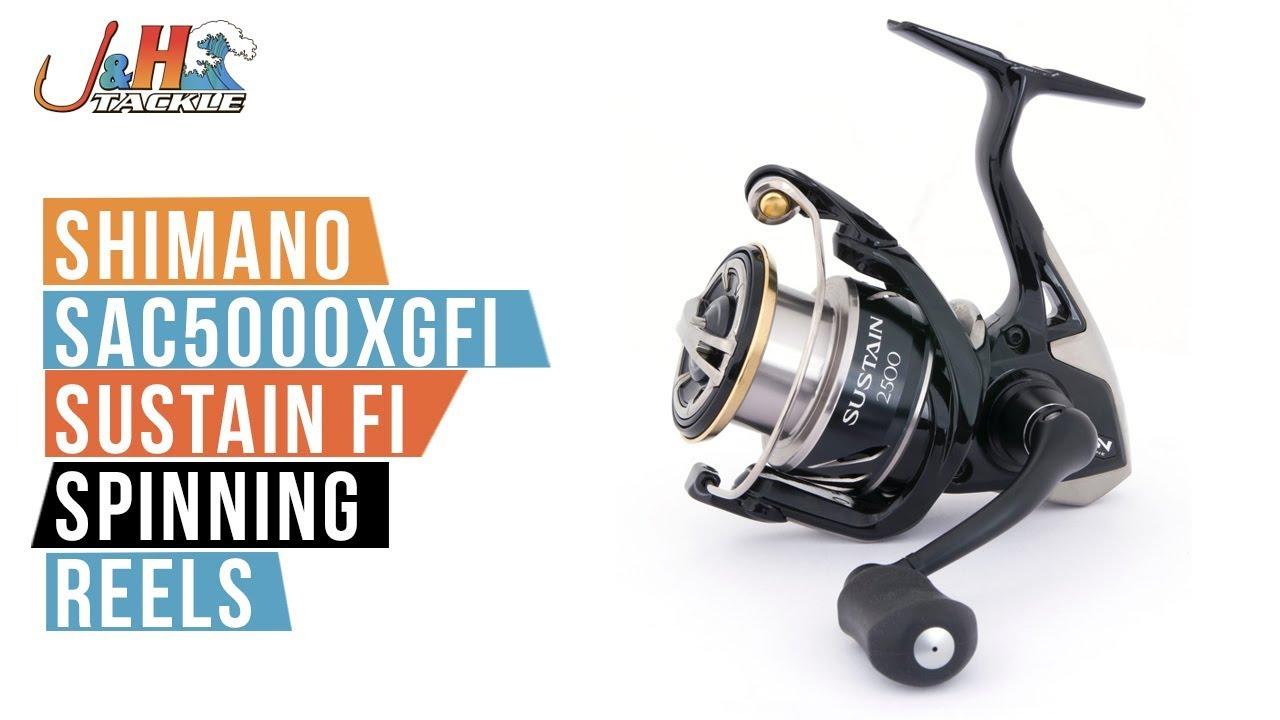 Shimano SAC5000XGFI Sustain FI Spinning Reel | J&H Tackle