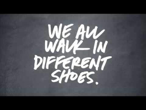 we all walk in different shoes Proper-fitting shoes make all the difference whether you walk or run  we've all got 10 toes and two heels, but beyond that, feet come in a variety of shapes -- and knowing your foot's.