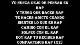 Letra de Adicto con ganas - Rapper School