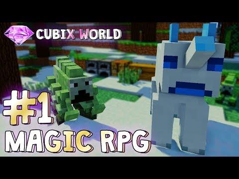 ИГРАЕМ НА МАЙНКРАФТ СЕРВЕРЕ С МОДАМИ MagicRPG#1 САМОЕ НАЧАЛО! (Minecraft Server)