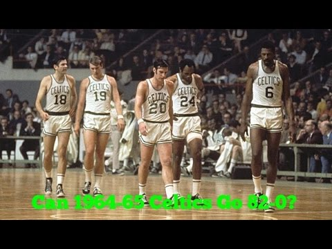 Can The 1964-65 Celtics Go 82-0!!!? (MyLeague NBA2K17)