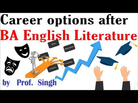 Best career options after graduation in english honours