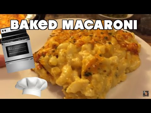 How To Make Baked Macaroni  The Right Way