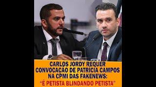 Convocação da jornalista Patrícia na CPMI das fakenews