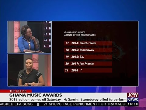 Ghana Music Awards - The Pulse on JoyNews (13-4-18)