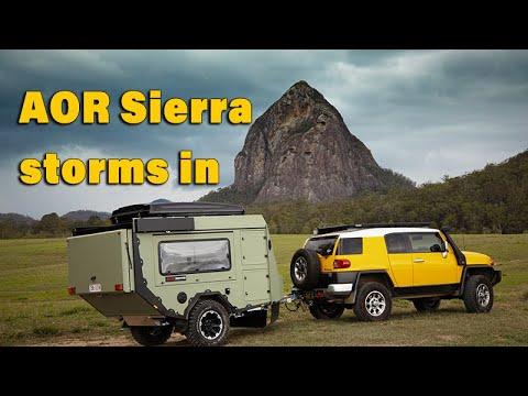 AOR Sierra - A New Take On The Hybrid Camper