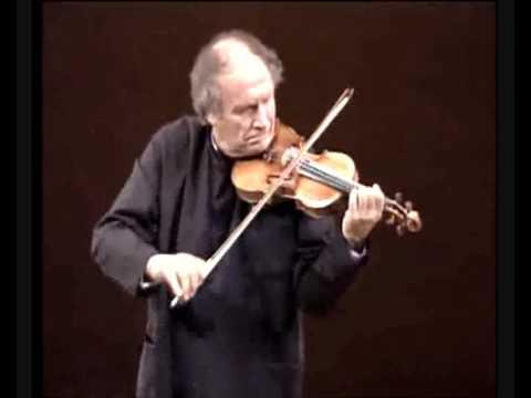 Ivry  Gitlis Bach Chaconne Live part 1.