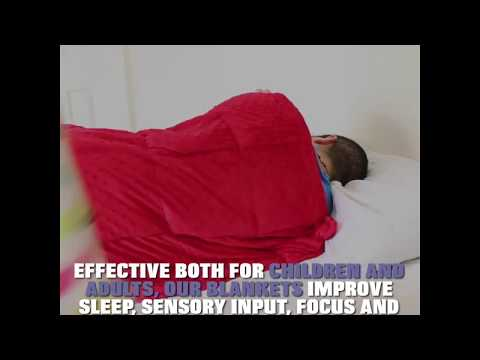 Doctor Recommended Weighted Blankets For Autism, Stress, Anxiety And More!