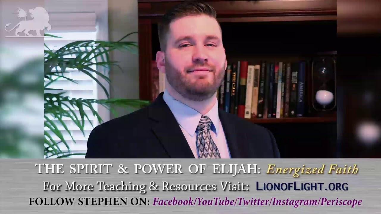 Stephen Powell The Spirit Power Of Elijah Energized Faith