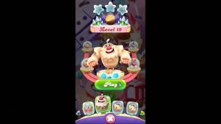 Candy Crush Friends Saga level 19, YETI POWERI