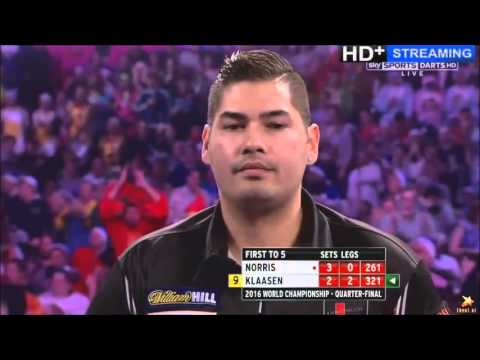 6 , 7 + 6 Perfect Darts by Jelle Klaasen in the same Match