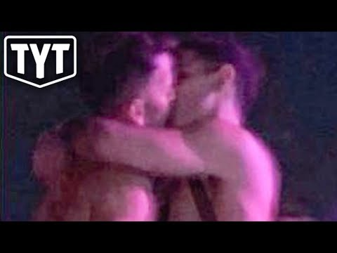 Anti-Gay Politician Kisses Man At Coachella