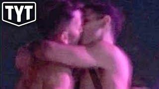 Anti-Gay Politician Kisses Man At Coachella