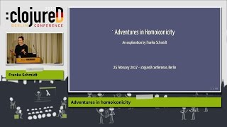 "clojureD 2017: ""Adventures in homoiconicity"" by Franka Schmidt"
