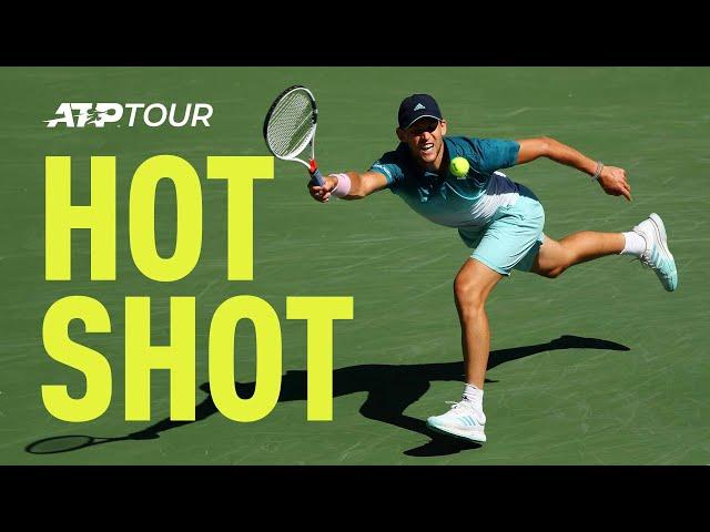 Hot Shot: Not Many Can Return A Raonic Serve Like This