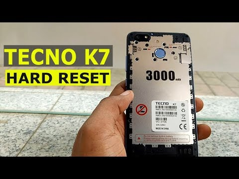 Tecno K7 Hard Reset , Tecno K7 Unlock - YouTube