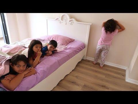 Elif Öykü , Masal and Cousins Hide and Seek Funny Kids Video