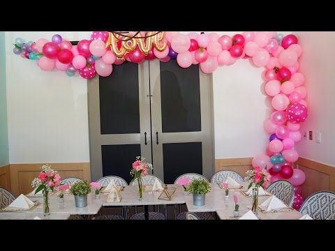 DIY Balloon Cluster decoration- 150 Balloons for less than $50