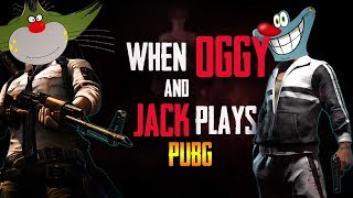 When Oggy And Jack plays PUBG Mobile