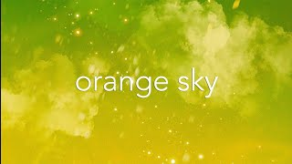 "Yas×宇井かおりコラボ第一弾 ""orange sky """