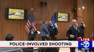 Lower East Side police-involved shooting: NYPD briefing
