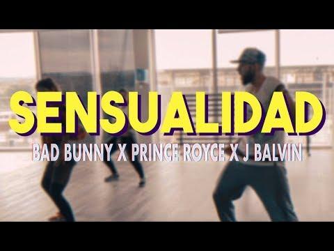 Sensualidad - Bad Bunny X Prince Royce X J Balvin | Zumba Fitness (Coreografía)