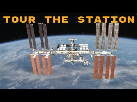 NASA Tour of The International Space Station - ISS Look Inside the ISS