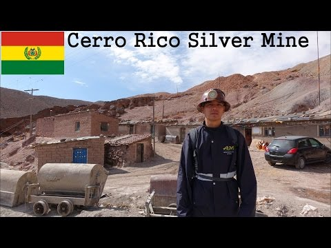 My Trip to Bolivia: Being a Miner in Cerro Rico Silver Mine Mountain 1 of 2