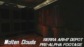 Военная база Сьерра. 1й этаж. ВП (Sierra base 1st level Pre-Alpha)