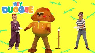 Stick Song Dance - Hey Duggee - Dance with Duggee