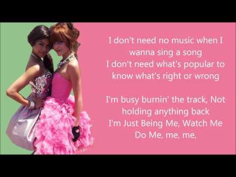 Bella Thorne & Zendaya - Watch Me [Lyrics HD]