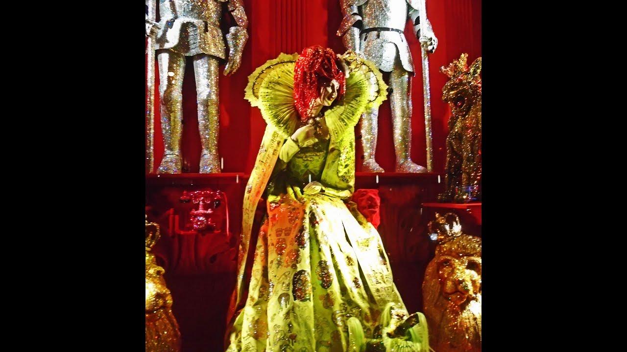 Bergdorf Goodman Store Christmas Windows in New York filmed on ...