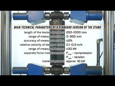 Damper test stand