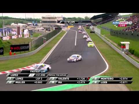 WTCC 2015 - Hungaroring, 1. futam