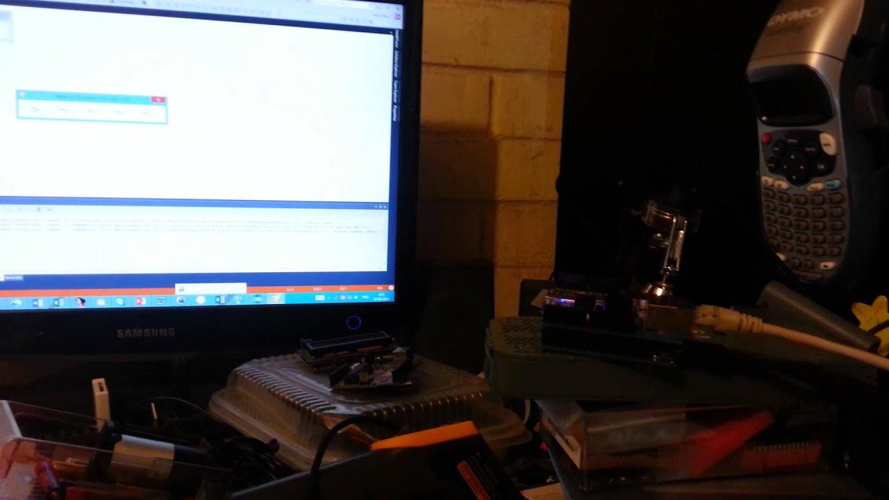 Arduino Ethernet Doorbell (UDP broadcast)