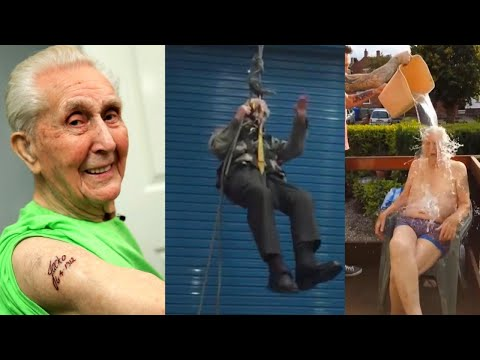 105-Year-Old Daredevil May Be the World's Oldest Man to Rappel