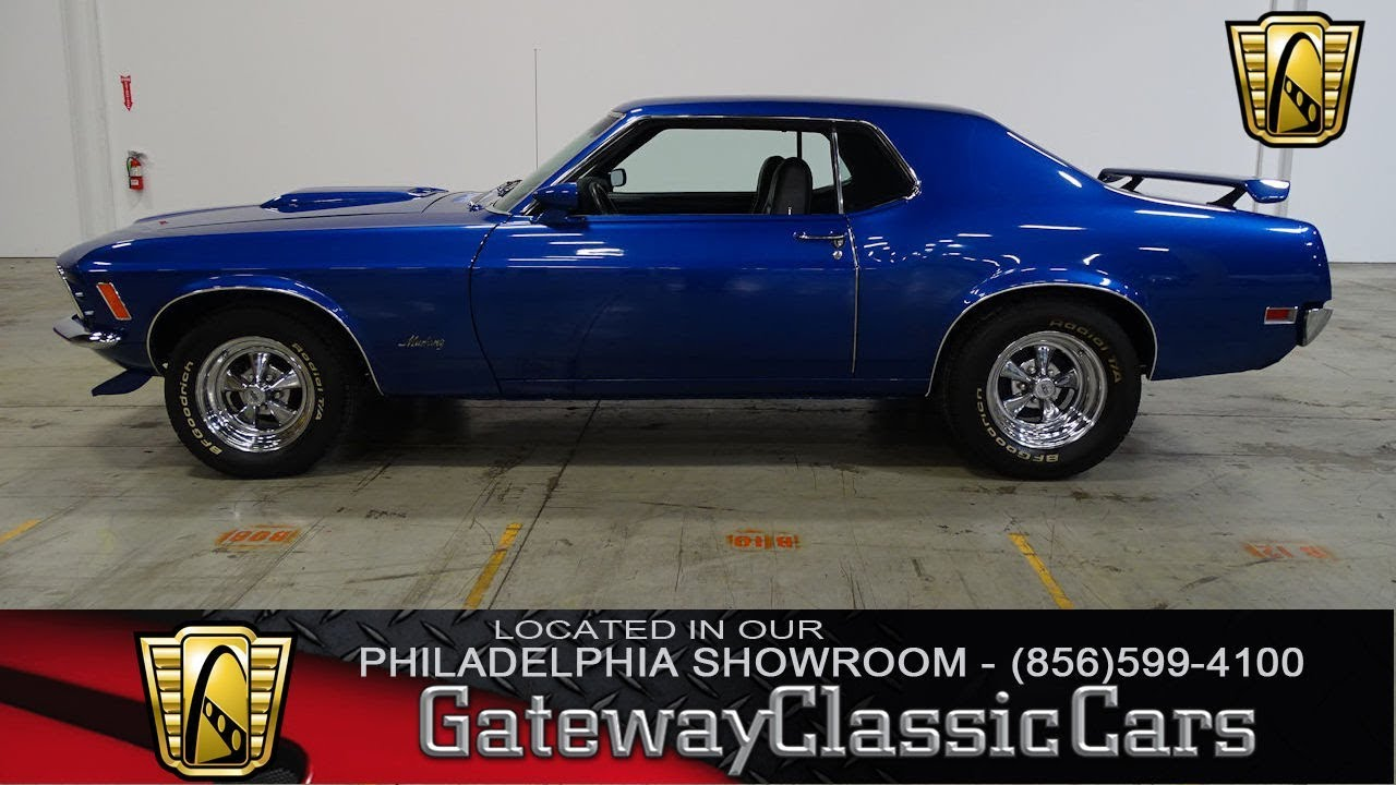 1970 Ford Mustang, Gateway Classic Cars Philadelphia - #323 - YouTube