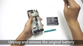 Как устанвить аккумулятор BT61-A Cameron Sino в MEIZU M681Q