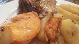 Домашняя курица с Картошкой запеченая в рукаве - Быстрые рецепты