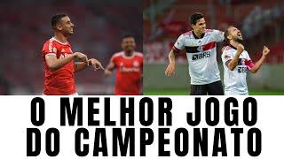 Inter e Fla fazem o melhor jogo do campeonato brasileiro em duelo de estratégias, com chances e gols