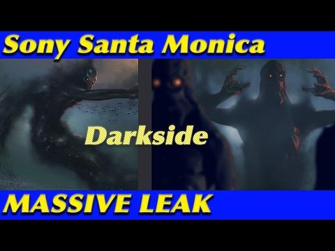 MASSIVE LEAK - Sony Santa Monica Darkside Leaked Concept Art