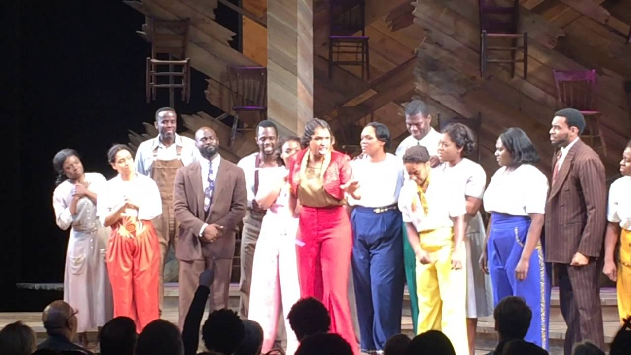 A Tribute To Prince From The Cast Of The Color Purple The Color