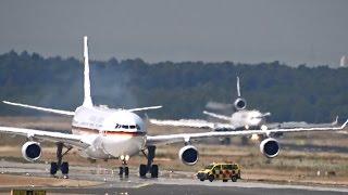 Queen Elizabeth II lands at Frankfurt Airport - Airbus A340-300 - German Airforce Luftwaffe