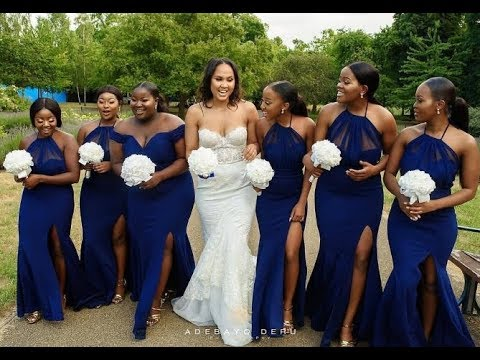 a7411cee86 African Bridesmaid Dresses 2019, Volume 1 #Super Cute Styles.