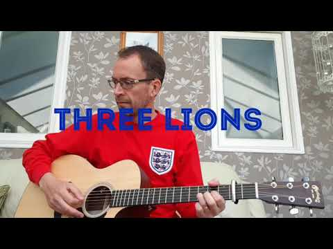 Baddiel, Skinner & The Lightning Seeds - Three Lions (acoustic cover)