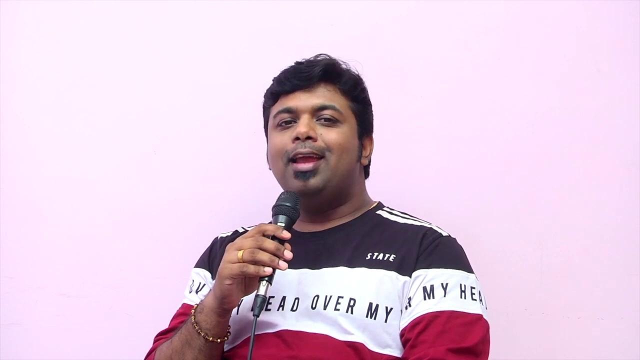 Renjith Unni Mollywood Playback Singer. Entammede Jimikki Kammal Is A Zing To Singer Renjith Unni.
