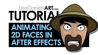After Effects Tutorial | Animąting 2D Cartoon Faces